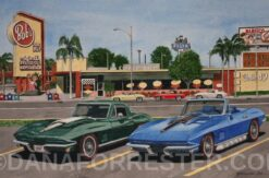 """Corvettes at Bob's"""