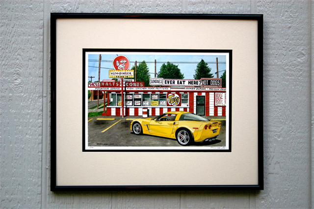 Framed Print Example